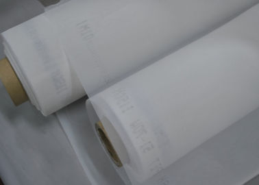 White 87 Inch High Tension 150T Polyester Screen Printing Mesh For Printed Circuit Boards Printing