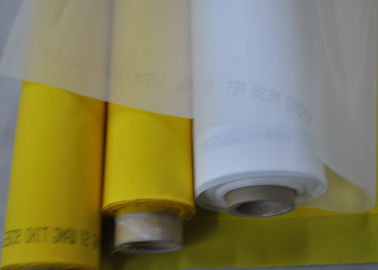 55 Thread Diameter Polyester Printing Mesh 64 Count With Low Elasticity