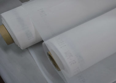 37 Micron Nylon Screen Mesh Fabric , White Polyester Mesh Filters For Milk